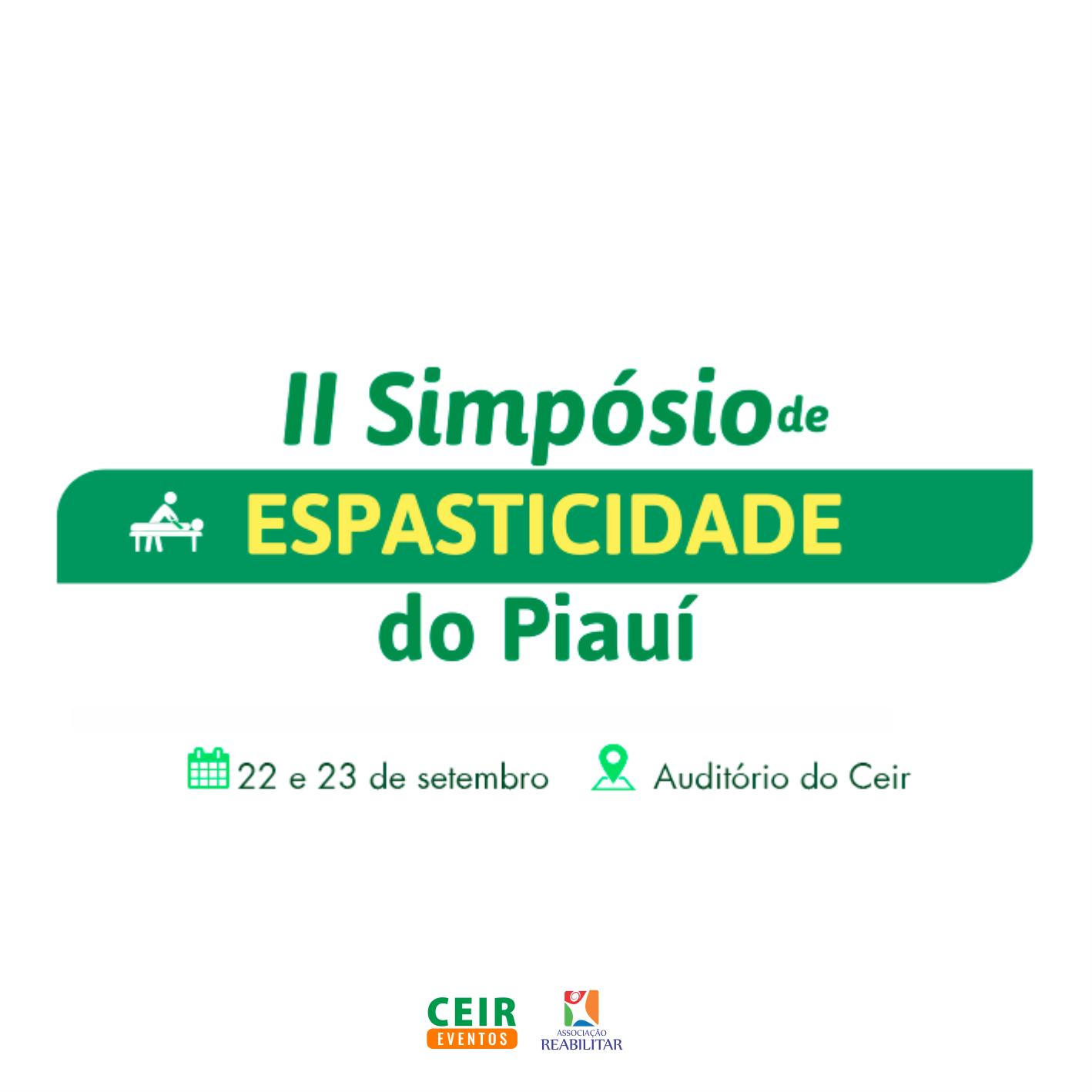 II Simpósio de Espasticidade do Piauí
