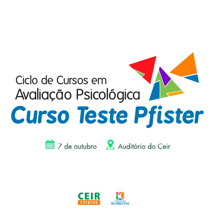 Curso Teste Pfister