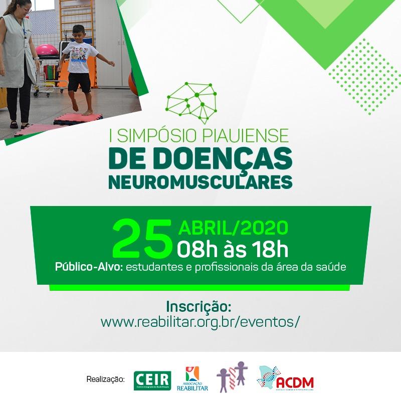 I SIMPÓSIO PIAUIENSE DE DOENÇAS NEUROMUSCULARES