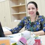 Cleia Gomes - Auxiliar Administrativo