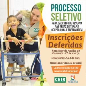 CEIR - PROCESSO SELETIVO 01
